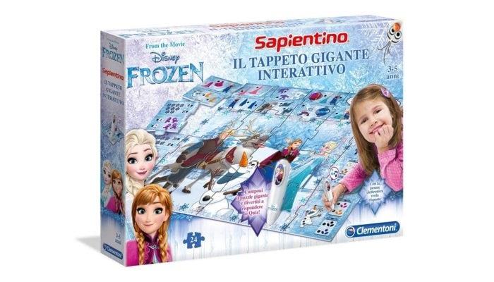 Clementoni Frozen Tappeto Gigante Interattivo