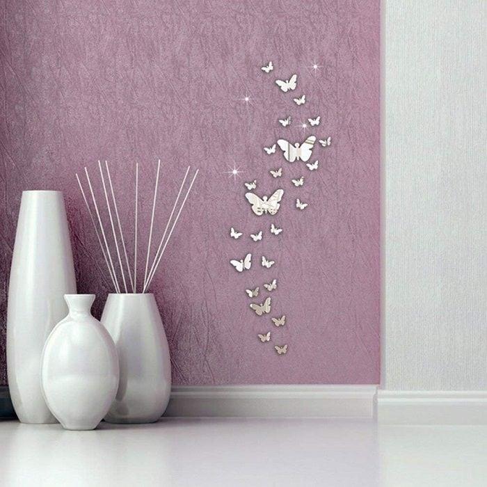 Farfalle da parete