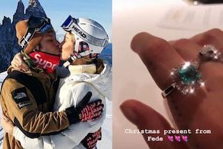 I regali di Natale dei Ferragnez, anelli milionari per Chiara e Fedez