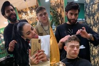 Giulia De Lellis e Irama insieme dal parrucchiere: ecco i nuovi look dei fidanzati