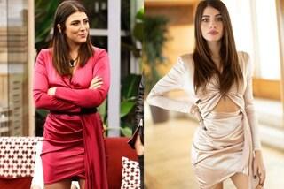 Chiara Nasti come Giulia Salemi: l'abito è lo stesso, a cambiare è solo il colore