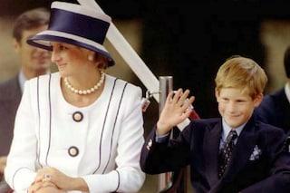 Il dolce gesto di Lady Diana: dormì sul pavimento dell'ospedale per stare vicino ad Harry
