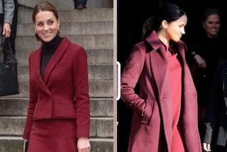 Il colore dell'inverno? Il burgundy, il più amato da Kate Middleton e Meghan Markle