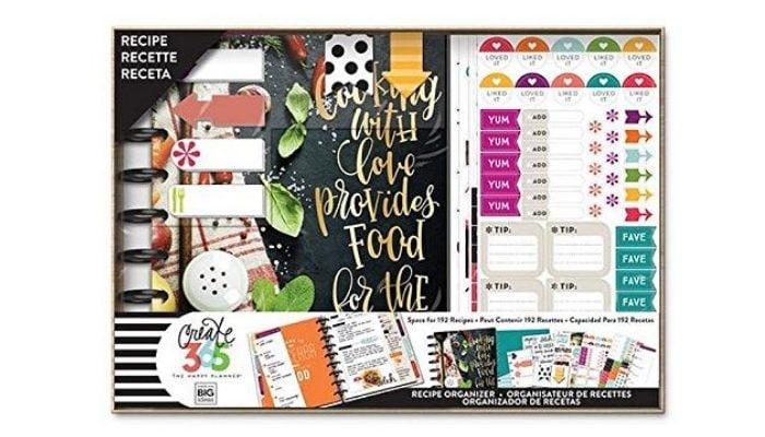 Kit di pianificazione per ricette