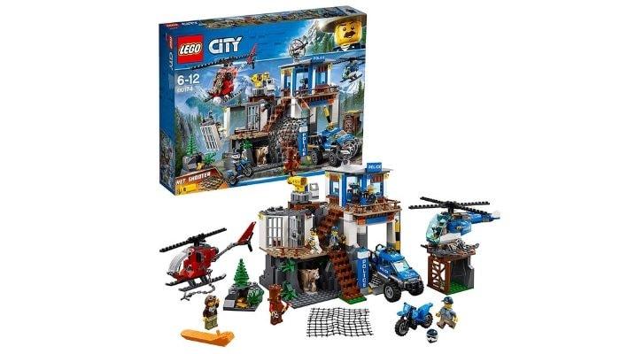 Lego City Police-Quartier Generale della Polizia di Montagna