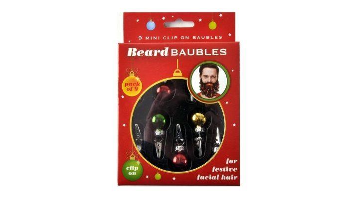 Palline di Natale per barba