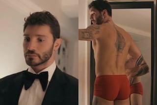 """Dallo smoking ai boxer rossi: Stefano De Martino """"si spoglia"""" per Capodanno"""