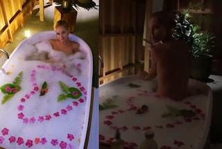 Chiara Ferragni nuda nella vasca da bagno: il viaggio di nozze alle Maldive diventa hot
