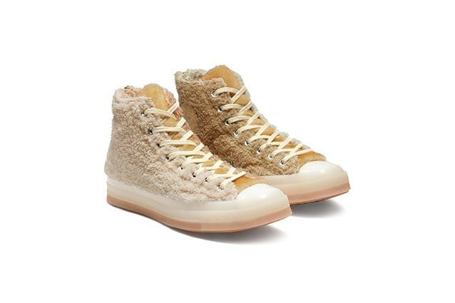 new product 75e45 4ff7e Arrivano le sneakers orsetto: le Converse in pelliccia sono ...