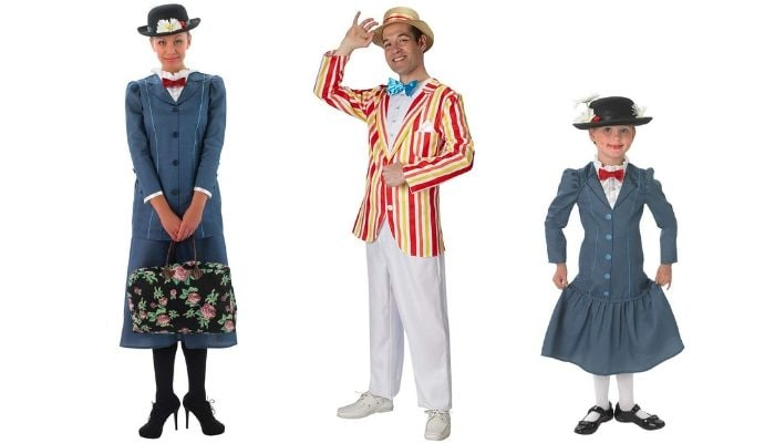 costume di carnevale Mary Poppins