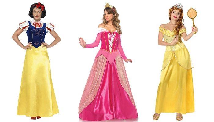 costumi di carnevale principesse disney