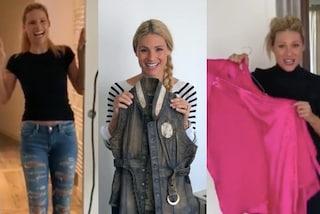 Michelle Hunziker, prima di Sanremo svuota l'armadio: vecchi abiti all'asta per beneficenza