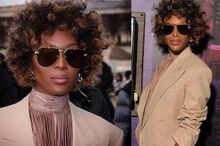 Naomi Campbell, addio capelli lunghi e lisci: la top stupisce con i ricci afro da maschiaccio