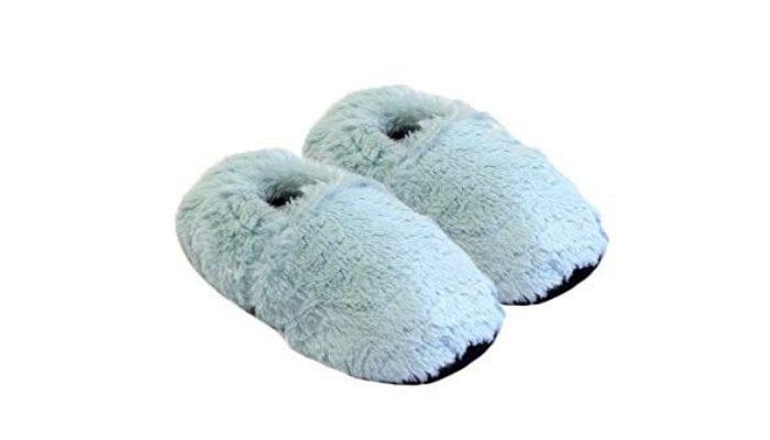 pantofole riscaldanti da microonde
