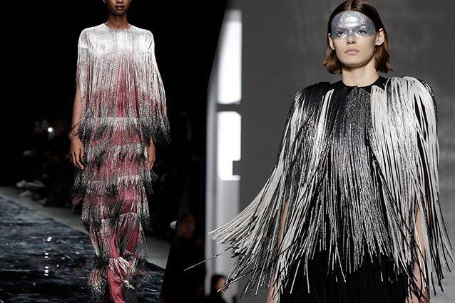 da sinistra Azzaro, Givenchy