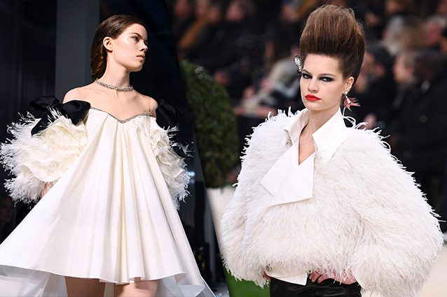 da sinistra Giambattista Valli, Chanel