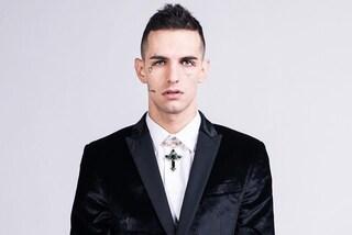 Achille Lauro, i significati dei tatuaggi sul volto del rapper
