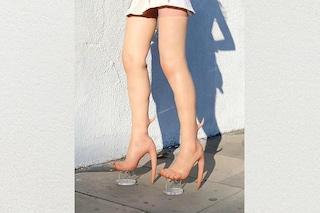 """Skin Heels: gli stivali di """"pelle umana"""" che costano 10mila dollari"""