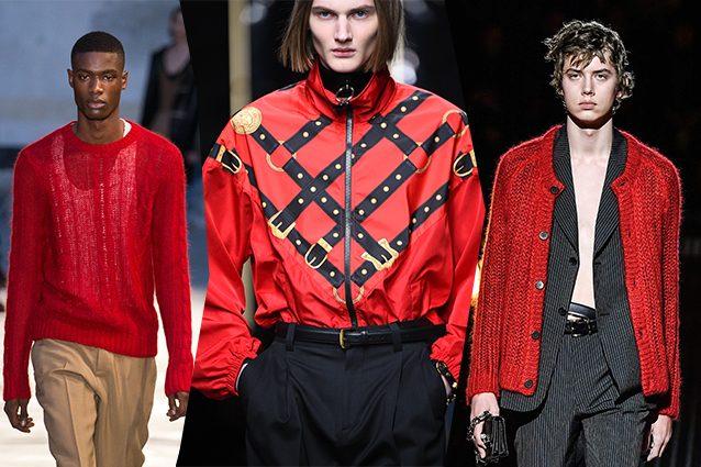 Da sinistra N.21, Versace, Prada