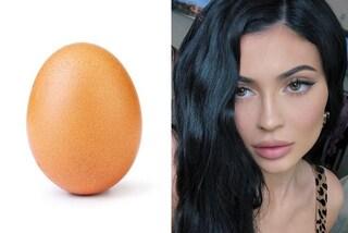 Un uovo ruba il primato a Kylie Jenner, non è più sua la foto con più like della storia