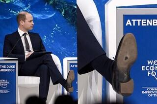 Vizi di famiglia (reale): dopo Harry anche il principe William ha le scarpe bucate