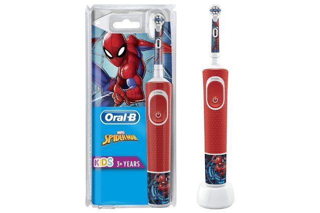 spazzolino elettrico spiderman
