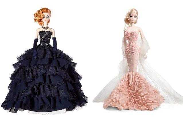5fb88337e Realizzate interamente in silkstone, le Barbie della collezione Fashion  Model indossano dei capolavori di haute couture realizzati dal designer  Robert Best.