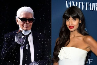 "Jameela Jamil contro Karl Lagerfeld: ""Era un misogino grasso-fobico, non dovreste osannarlo"""