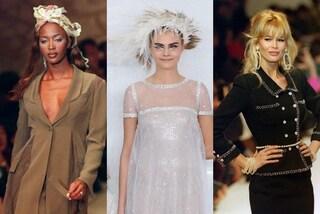 Karl Lagerfeld, da Claudia Schiffer a Cara Delevingne: tutte le muse dell'imperatore della moda