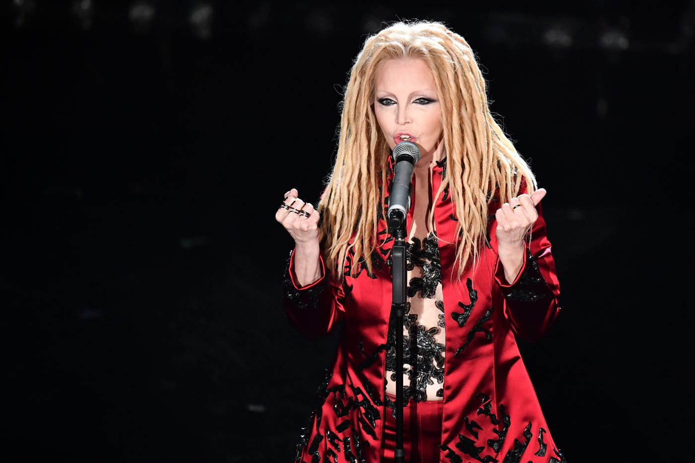 Patty Pravo in Simone Folco