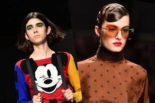 Milano fashion week, le tendenze trucco: labbra rosse e occhi pop in passerella