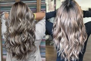 Mushroom blonde, il colore di capelli trendy perfetto sia per le more che per le bionde
