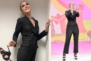 Nadia Toffa veste da maschio: il nuovo look glam a Le Iene
