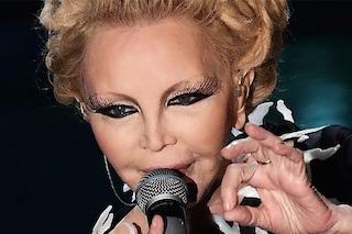 Patty Pravo e il dettaglio di cui non tutti si erano accorti a Sanremo: anche le ciglia sono aliene
