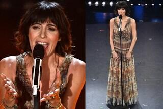 Giorgia incanta a Sanremo 2019: sul palco dell'Ariston sfoggia il nuovo look con la frangetta