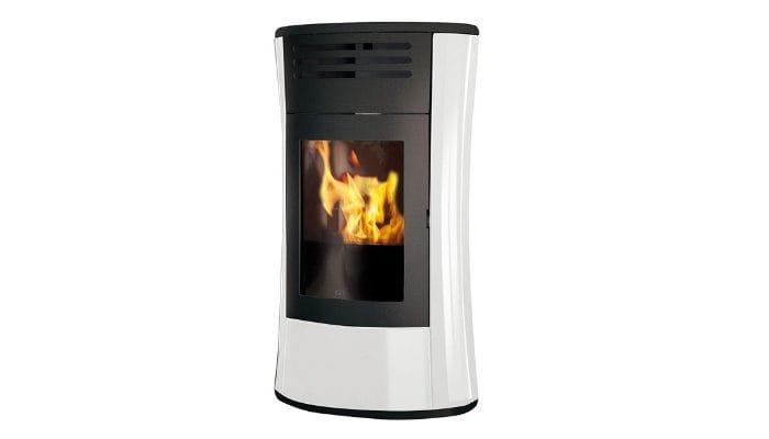 termostufa a pellet Edilkamin Cherie Up Vetro