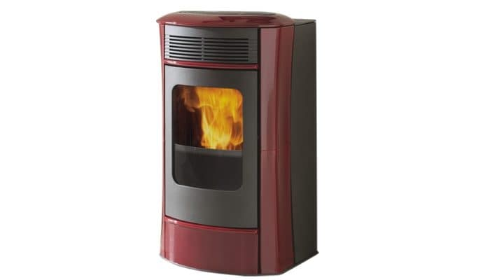 termostufa a pellet idrosally ceramica