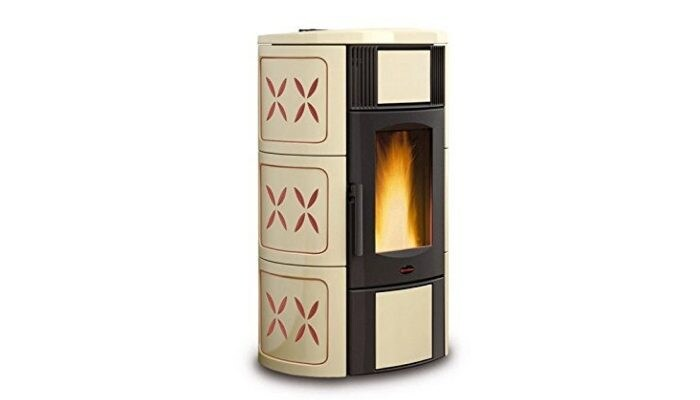 termostufa a pellet La Nordica Extraflame Iside Idro