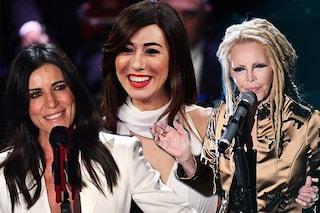 Top e flop beauty a Sanremo 2019: dai capelli di Patty Pravo al rossetto rosso di Virginia Raffaele