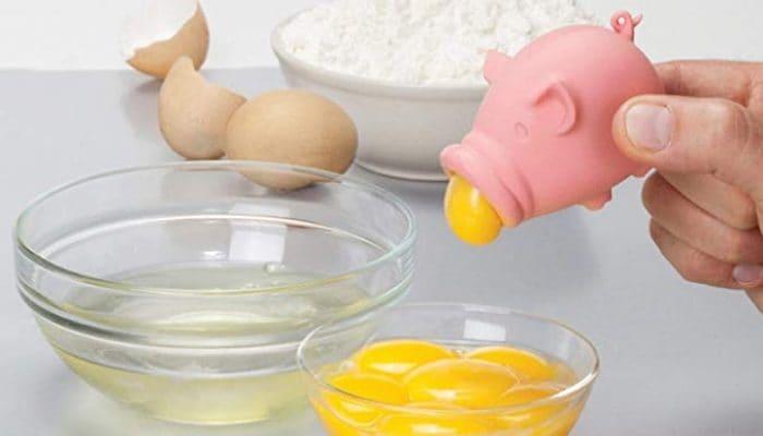 Maialino separa uova Monkey Business Yolkpig