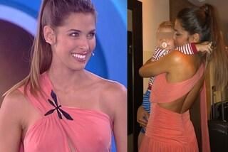 Ariadna Romero in rosa all'Isola dei Famosi: il dolce abbraccio con il figlio commuove il web