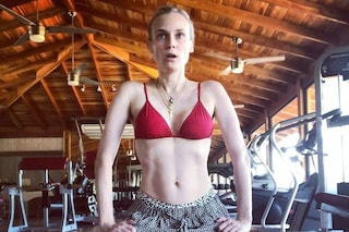 Diane Kruger, a 4 mesi dal parto mostra gli addominali scolpiti