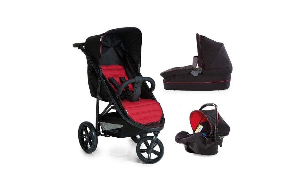 d8c3d09167 I modelli di passeggini trio a 3 ruote sono solitamente più costosi  rispetto ai passeggini con quattro ruote, ma questo trio targato Hauck  unisce qualità, ...