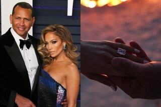 L'anello di fidanzamento di Jennifer Lopez: il prezioso vale oltre 4 milioni di euro