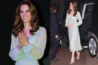 Kate Middleton osa con le trasparenze: il look audace e glitterato della principessa