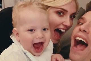 """Chiara Ferragni e Fedez insegnano a Leone a dire """"mamma"""", il risultato è dolcissimo"""