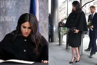 Meghan Markle in nero in segno di lutto: così commemora le vittime dell'attentato in Nuova Zelanda