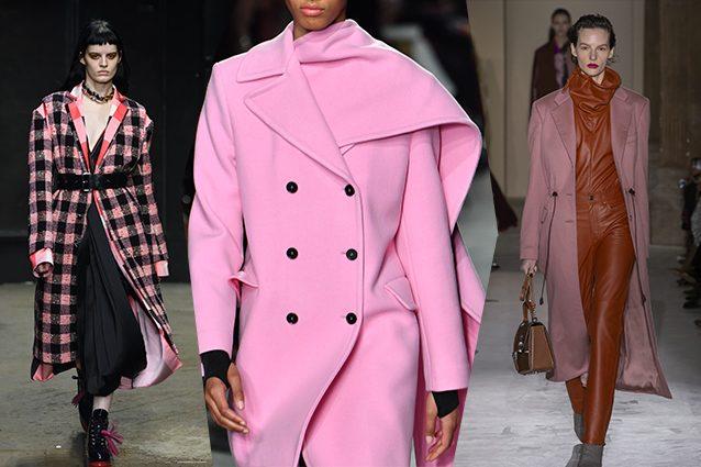 best service d15f5 d87b7 Cappotti rosa e minigonne sui pantaloni: le tendenze dalle ...