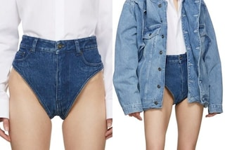 Arrivano le mutande di jeans che costano quasi 300 euro: chi ha il coraggio di indossarle?