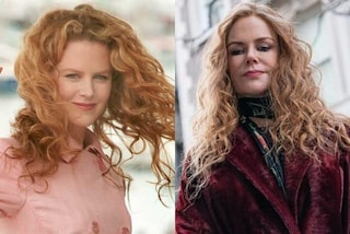 Nicole Kidman ritorno alle origini, l'attrice con capelli rossi e ricci